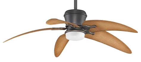5 Palm Leaf Ceiling Fan Blades by Fanimation Mad3260ba Bpw6090dna Brass Accent With