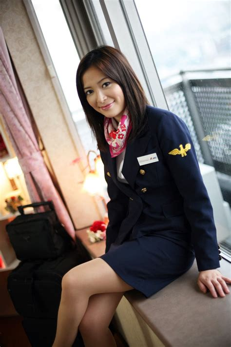 Jac Stewardess Costume Photography ~ World Stewardess Crews