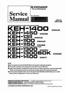 Pioneer Keh1500 X1m  Ew