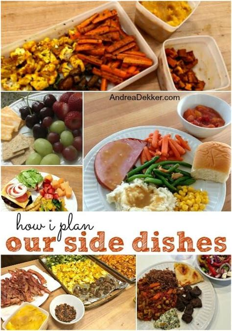 101 best side dishes meal planning 101 how i plan our side dishes andrea