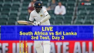 South Africa vs Sri Lanka Live Score