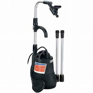 Draper 350w 230v Submersible Water Butt Pump With Float