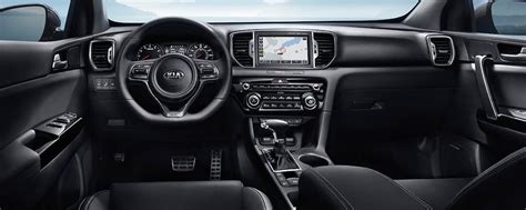 kia sportage interior features dimensions suntrup