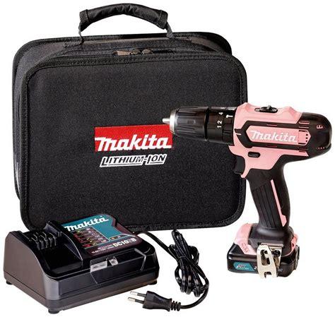 makita akku schlagbohrschrauber hpdsap   pink
