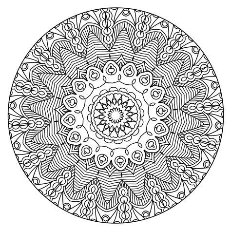 Coloring Mandala by Coloring To Calm Volume One Mandalas