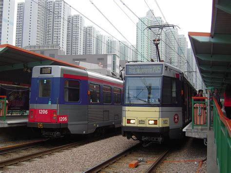 Light Rail by Mtr Light Rail Routes 705 And 706