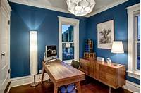 perfect office color ideas black and white How to Choose the Best Home Office Color Schemes - Home ...