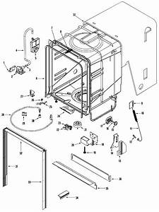 Maytag Quiet Series 300 Parts Diagram