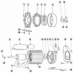 3 Phase 6 Lead Motor Wiring Diagram  Engine  Wiring