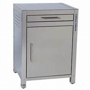 Meuble Pour Plancha : meuble pour plancha tout inox forge adour 1 tiroir 1 ~ Melissatoandfro.com Idées de Décoration