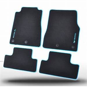 4pcs Premium Solid Black Nylon Car Floor Mats Carpet Exactly Fit For Ford Mustang 14-in Floor ...