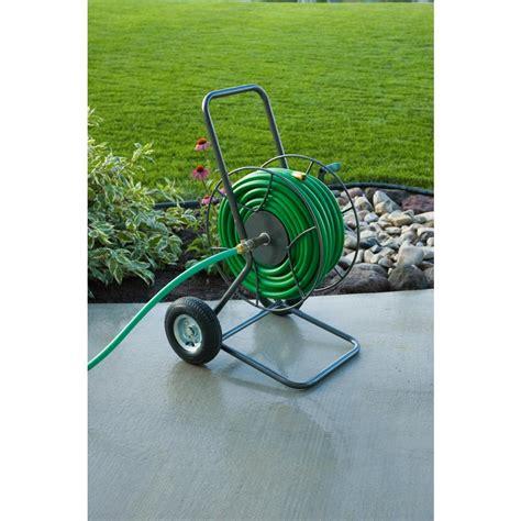 yard butler hose reel yard butler 2 wheeled hose reel cart 14025530 the home depot 1682