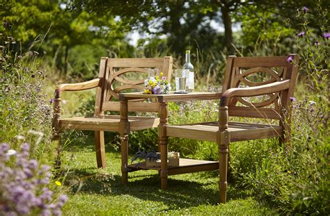 cleobury fsc companion garden bench  hartman
