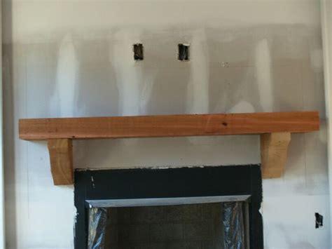 custom cedar mantle  work kenny collier pinterest