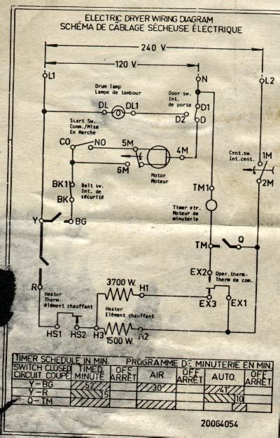 Wire Schematic For Kenmore Upright Freezer by Appliantology Archive Washer And Dryer Wiring Diagrams