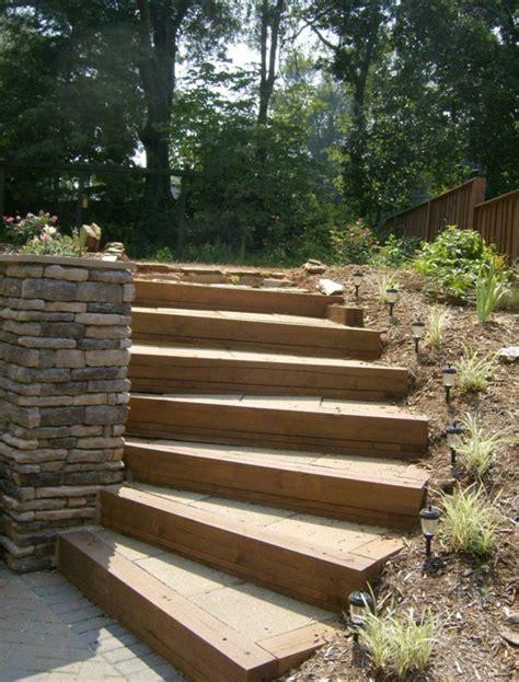 Holz Garten by Gartentreppe 33 Tolle Gestaltungsideen Archzine Net