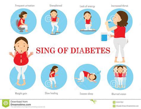 diabetes type  stock vector illustration  medicine