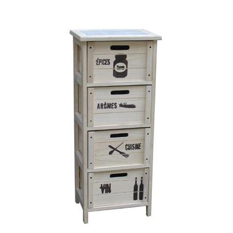 meuble bas cuisine gris meuble 4 tiroirs décor kitchen achat vente petit