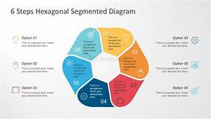 Multi Color Hexagonal Diagram For Powerpoint
