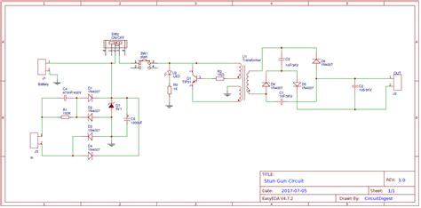 Schematic Flashlight Taser Wiring Diagram | WiringDiagramZ com