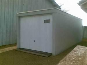 Prix Garage Parpaing 20m2 : un garage en pr fabriqu une solution conomique ~ Dailycaller-alerts.com Idées de Décoration