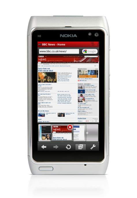 Some websites have navigation menu in flash. Opera Mobile 10.1 acum si pe Symbian S60 | ITnewz