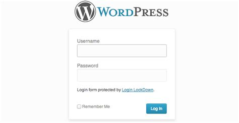 Custom Wordpress Login Page Richwpcom