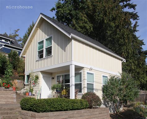 Bedroom Backyard Cottage Designed Microhouse Cottages