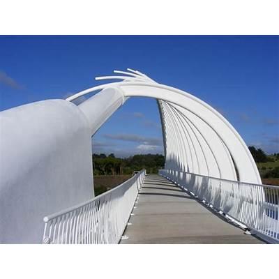 photographing New Zealand: Te Rewa Bridge
