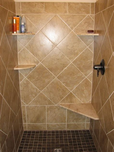 bathroom niche ideas shower tile designs casual cottage