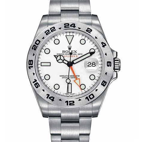 Rolex Explorer II 216570WSO 42MM White Dial replica watch ...