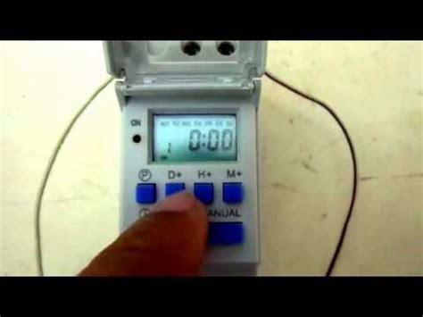 tutorial para instalar un temporizador digital doovi