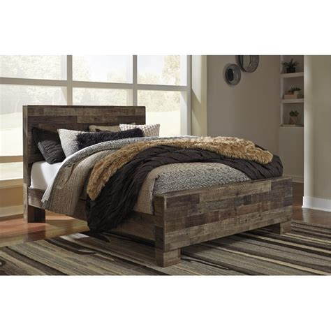 modern rustic farmhouse full size bed broadmore rc