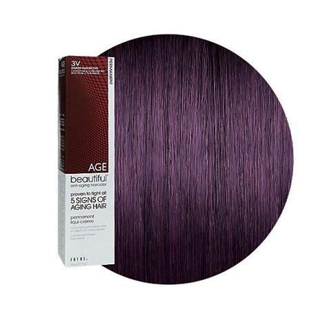 Darkest Hair Color by 3v Darkest Plum Brown Permanent Liqui Creme Hair Color