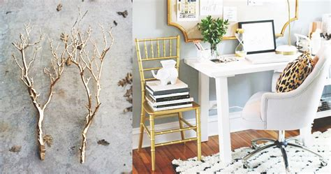 gold home decor now that s chic gold accents home decor fever