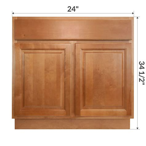 Bathroom Base Cabinets by Lesscare Richmond 24 Quot Bathroom Maple Vanity Sink Base