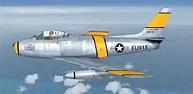 USAF North American F-86 Sabre for FSX