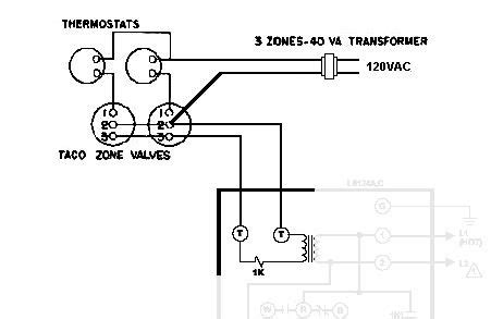 taco zone valve wiring taco zone valve in 2019 heating systems boiler wire