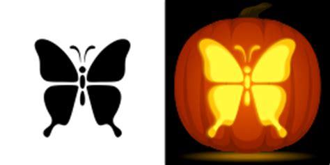 butterfly pumpkin stencil animal pumpkin carving patterns
