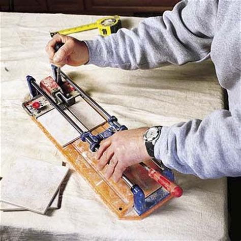 score and snap tile cutter cut tiles to fit how to install a tile backsplash this