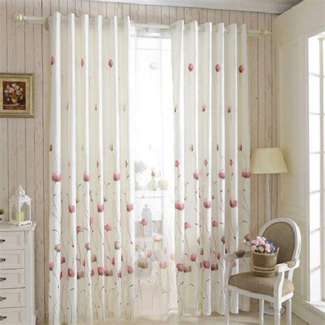 organza curtains cortinas cocina window curtain for