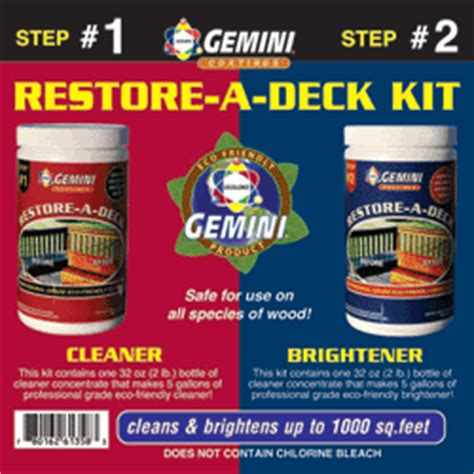 Gemini Deck Cleaner