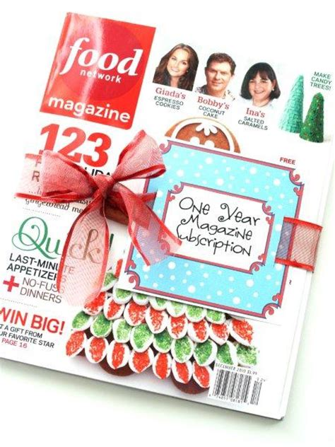 gift a magazine subscription magazine gift subscription printable