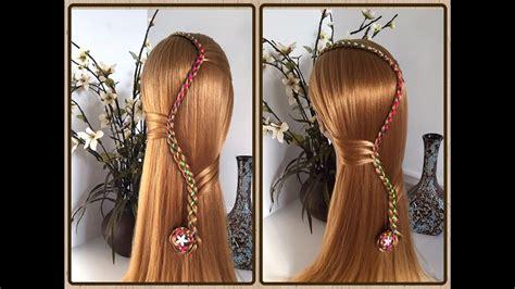 peinado con trenza de 4 f 225 cil y r 225 pida de hacer peinados faciles y bonitos lph