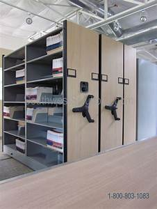Mobile Shelving High Density Open Racks Bi File Spacesaver Kardex