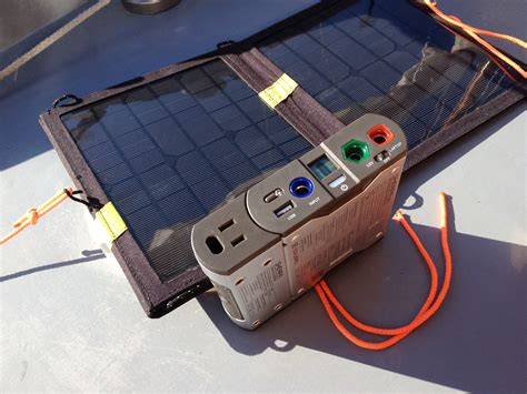 a portable solar charging kit small boats monthly