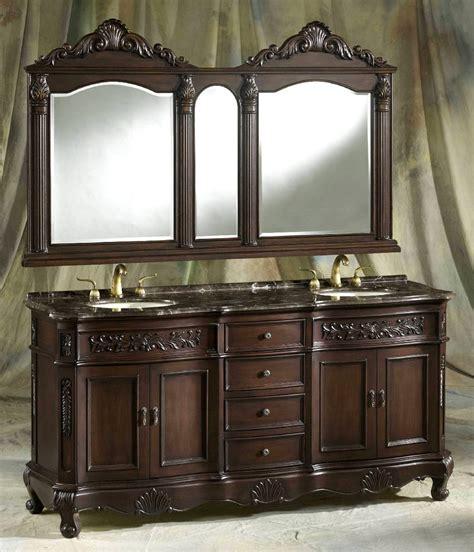 """72"""" Pressley Vanity  72inch Double Vanity  Dark Sink Vanity"""