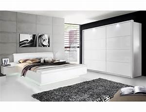 Schlafzimmer Hochglanz Weiß : schlafzimmer sophie 20v wei hochglanz doppelbett 2x nako schrank wohnbereiche schlafzimmer ~ Frokenaadalensverden.com Haus und Dekorationen
