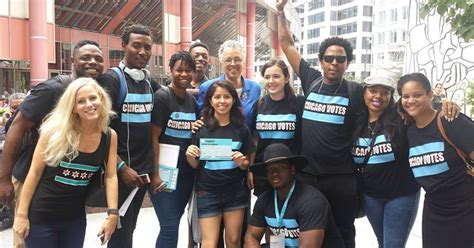 young people  chicago parade   polls