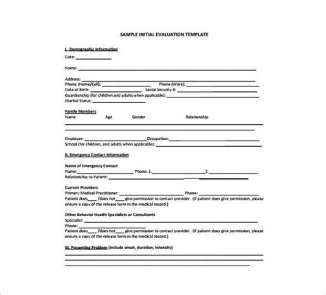 treatment plan templates sample word google docs